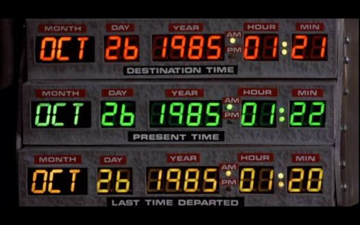 Back To The Future - Time Circuit