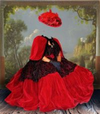 The Invisible Lady in Red
