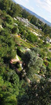 Garten Tulln von oben