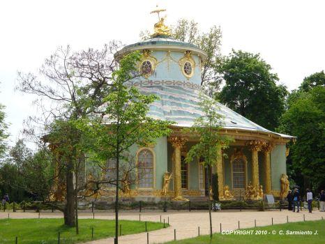 GERMANY - Potsdam - Sanssouci Palace – The Chinese House