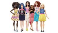 "the ""real"" new curvy, tall and petite Barbie Dolls"