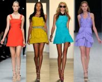 Colorful dresses 3
