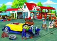 Somerset Service Station  Puzzle By Sunsout