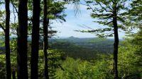 Lužické hory - pohled od Luže na Klíč
