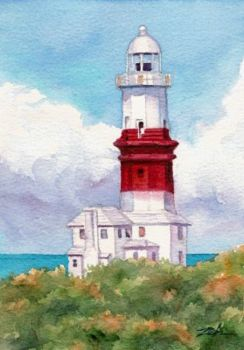 St. David's Lighthouse Bermuda by Janet Zeh