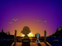 ~Watching the sun set with a Friend~