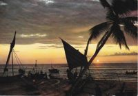 Postcard & envelope pictures 150 - Sunset in Ceylon