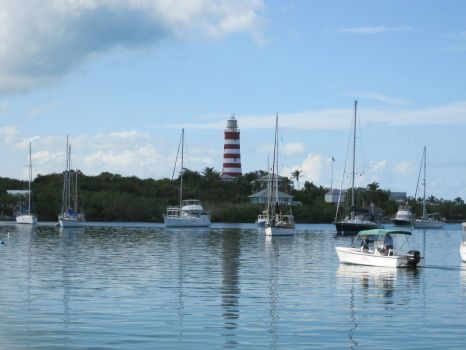 Hope Town Harbour, Abaco, Bahamas