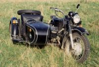 My old Dnepr with driven sidecar