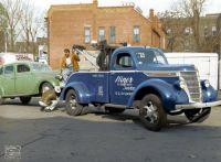 Hiner U.S. Tire & Auto Service, 1937 International Tow Truck, St. Joseph Missouri