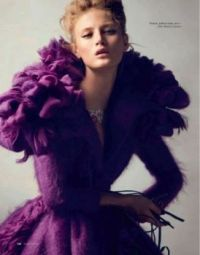 Theme: Wedding Dresses/purple Dior
