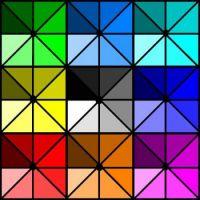 Shaded Triangles - Medium