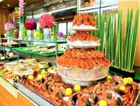 THEME:  Desserts & Party Foods   ~  Seafood Buffet