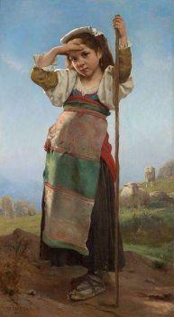 """""""Young Shepherdess"""""""