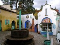 View of battery square in Portmeirion
