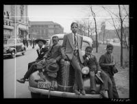 Negro boys on Easter morning. Southside Chicago, Illinois, 1941 ~ Russell Lee