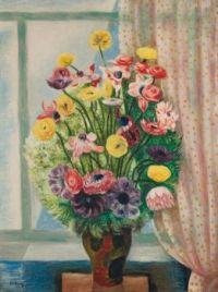 Moïse Kisling (Polish/French,1891–1953), Fleurs (ca 1920)