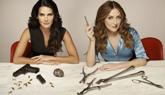 Rizzoli and Isles Guns and Scalples