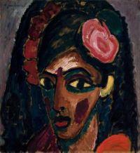 Egyptian Girl, Alexei Jawlensky, 1913