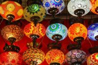 10474726-Colored-lamps-displayed-for-sale-Stock-Photo-istanbul-bazaar-turkish