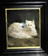 Cat Portrait, Willet-Holthuysen House Museum, Amsterdam 12.16