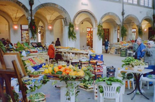 Indoor Market Italy