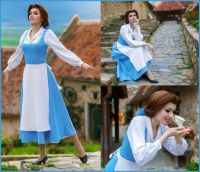 """Belle from Beauty and the Beast"" CosPlay"
