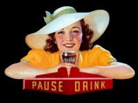 Themes Vintage ads - Pause Drink