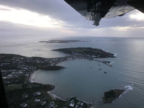 Leaving the Isles of Scilly
