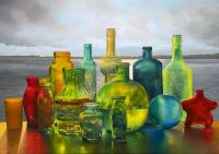 Medley of Colored Bottles