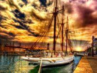 Crow's Nest Harbor at sunset