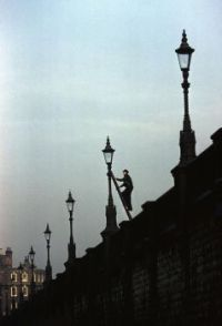 Lamplighter Doing Rounds London 1962