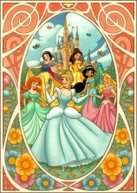 Art Nouveau princesses