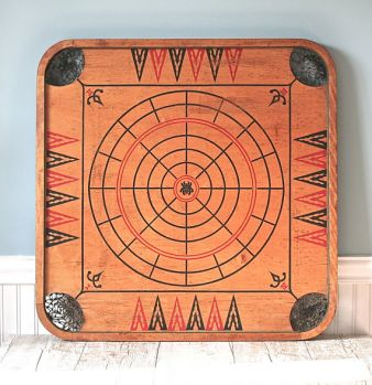 vintage carrom board