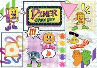Breakfast diner comic