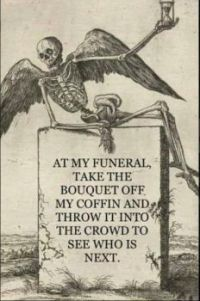 At my funeral