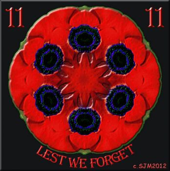 LEST WE FORGET (TILE 1035 smaller version available-see comments box)
