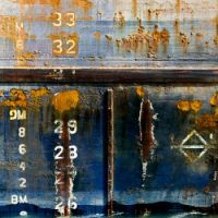 Theme: Numbers - Boat on Welland Canal