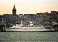 SHOTA RUSTAVELI docked in Istanbul