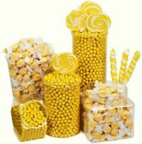THEME:  Yellow  ~~  Yummies