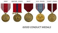 Good Conduct Medals -