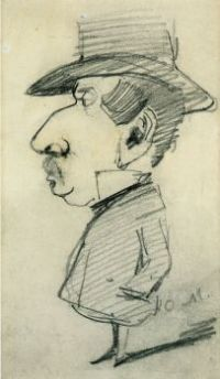 Claude Monet - Caricature of Grandfather Lebas (May17P04)