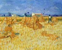 Wheat Harvest by van Gogh