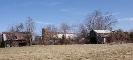 Old Barns ~ almost gone!