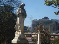 Grady Hospital in distance - Atlanta