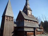 Houten kerk Hahneklee Duitsland