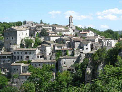 Balazuc  Frankrijk