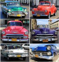 Cuban Cars #5 - Caddy, ??, Chevy Chevy, Ford, Ford
