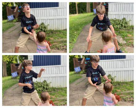 Joey & Maddie Playing!!