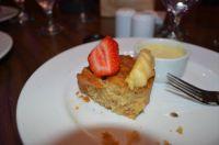Cake and Strawberry